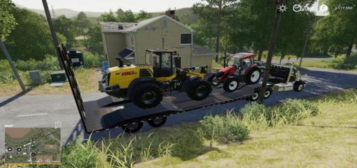 Photo of FS19 – Lw-60 Lowbed Trailer V1