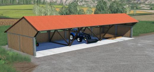 Photo of FS19 – Machine Shelter With Lighting V1