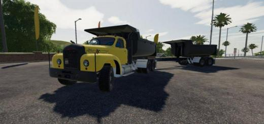Photo of FS19 – Mack B61 Dump And Trailer V1.0.0.5