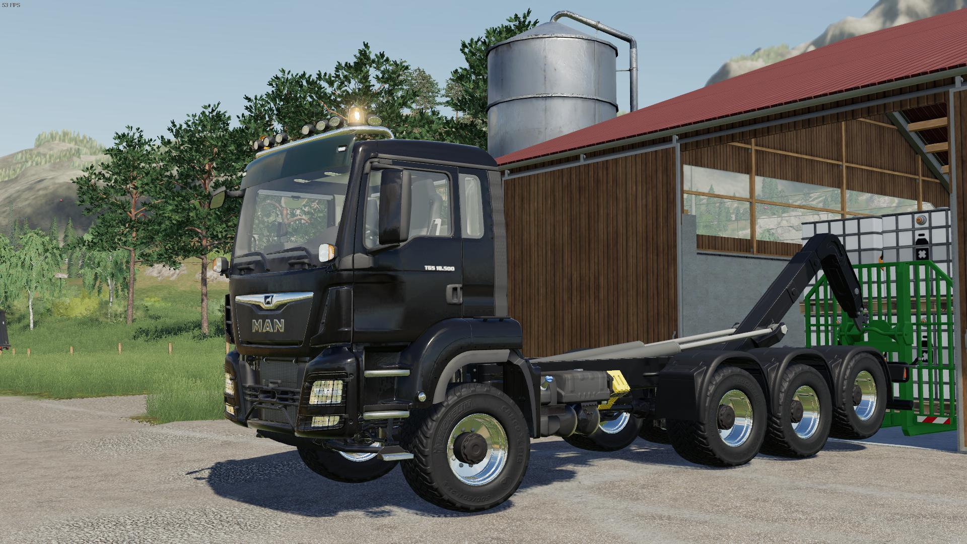 Photo of FS19 – Man Tgs 18.500 Hooklift V1.2