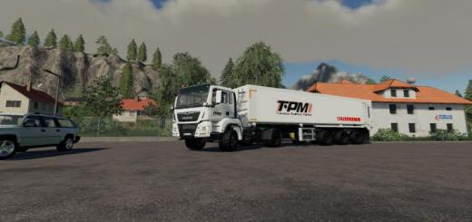 Photo of FS19 – Man Tgs 18500 (Tpm Version) V1