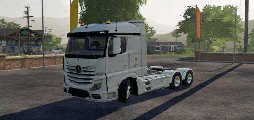 Photo of FS19 – Mercedes-Benz Actros Mp4 1845 6X4 V1