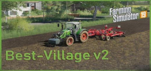 Photo of FS19 – New Best Village Map V2