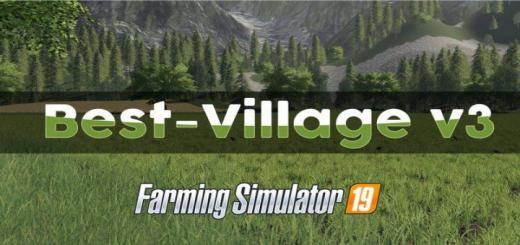 Photo of FS19 – New Best Village Map V3
