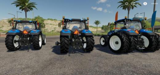 Photo of FS19 – New Holland T6 American Tractor
