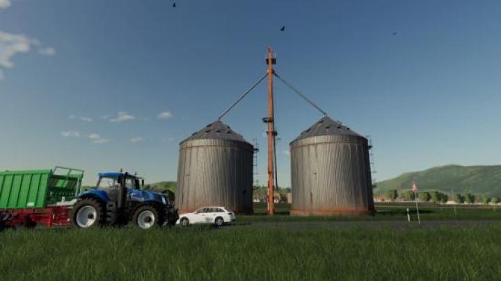 FS19 - Placeable Farm Silo