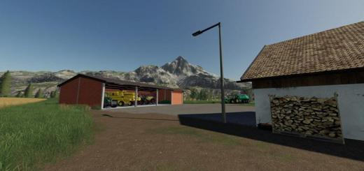 Photo of FS19 – Placeable Openshed V1