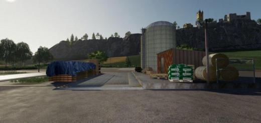 Photo of FS19 – Placeable Reception Center V1