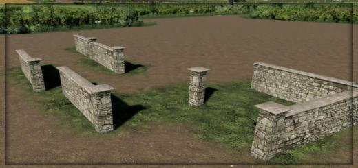 Photo of FS19 – Placeable Walls V1