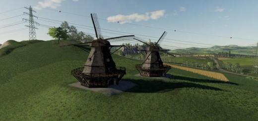 Photo of FS19 – Placeable Wind Mill V1