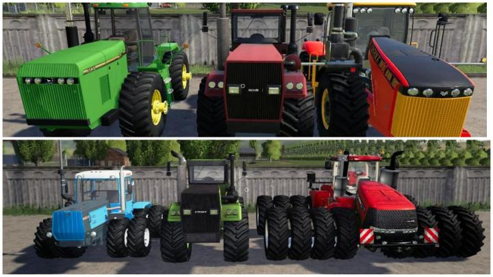 FS19 - Powerful Tractors Pack V2