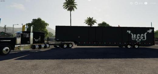 Photo of FS19 – Rcc Truck And Trailer Pack V1