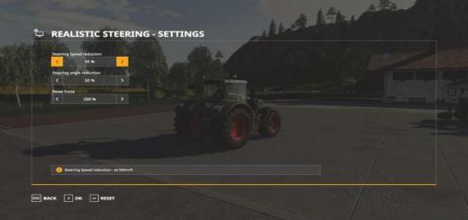 Photo of FS19 – Realistic Steering V1