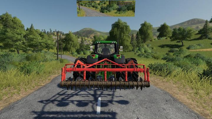 FS19 - Rearview Mirror V1