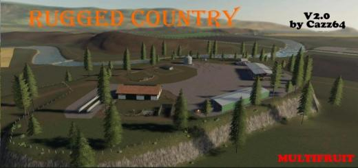 Photo of FS19 – Rugged Country 4X Map V2
