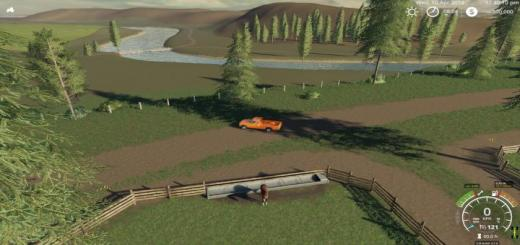 Photo of FS19 – Rugged Country Map V1.1