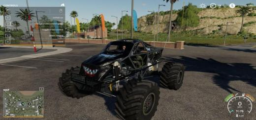 Photo of FS19 – Slayer Monster Truck V1