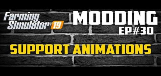 Photo of FS19 – Supportanimations V1