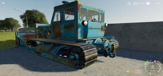 Photo of FS19 – T 100 Raupe V1