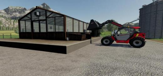 Photo of FS19 – Tomato Greenhouse V1