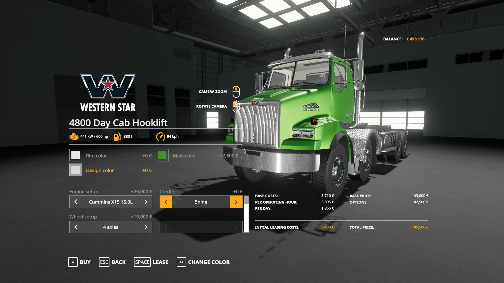 Photo of FS19 – Western Star 4800 Hooklift V1