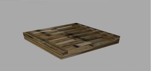 Photo of FS19 – Wood Pallet Prefab V1
