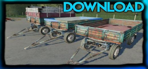 Photo of FS19 – Autosan D50 Trailer V1