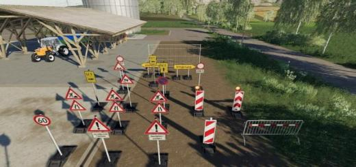 Photo of FS19 – Barrier Pack Placeable V1