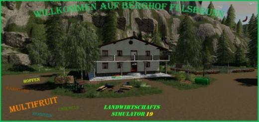 Photo of FS19 – Berghof Felsbrunn Map V1.1