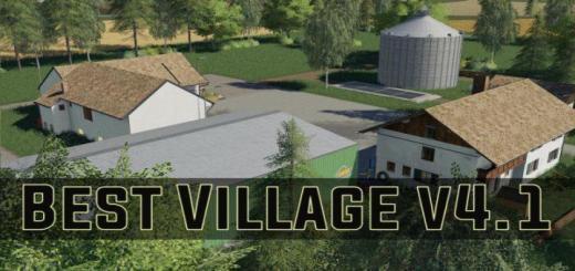Photo of FS19 – Best Village Map V4.1 Final