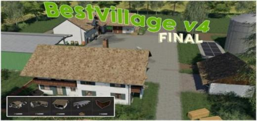 Photo of FS19 – Best-Village Map V4 Final