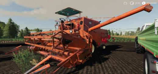 Photo of FS19 – Bizon Z056 Old Harvester V2