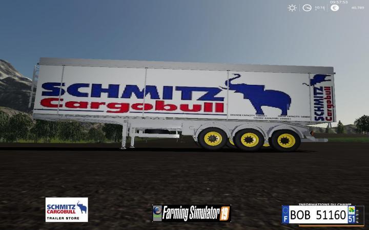 FS19 - Cargobull Schmitz By Bob51160 V1