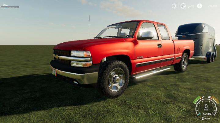 FS19 - Chevrolet Silverado 1500 99 V1