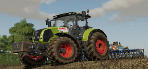 Photo of FS19 – Claas Axion 800 + Weight 900Kg V1