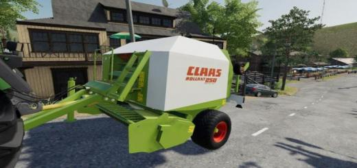 Photo of FS19 – Claas Rollant 250 Rotocut V1