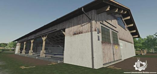 Photo of FS19 – Cowshed Pack V1