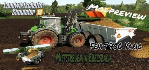 Photo of FS19 – Fendt Vario 700 Tractor V1.2