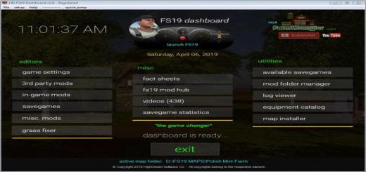 Photo of FS19 – Dashboard V1.7