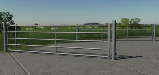 Photo of FS19 – Galvanized Gate V1