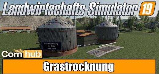 Photo of FS19 – Grass Drying V1.0.3.0