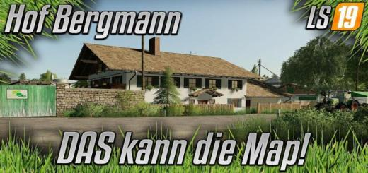 Photo of FS19 – Hof Bergmann Map V1