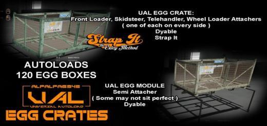 Photo of FS19 – Iconik Ual Egg Crates V1