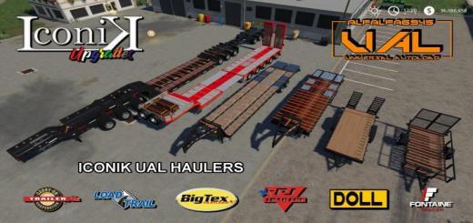 Photo of FS19 – Iconik Ual Haulers V1