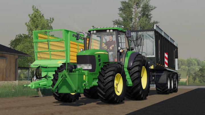 FS19 - John Deere 7030 Eddit V1