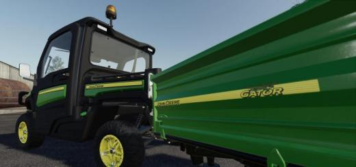 Photo of FS19 – John Deere Gator Trailer V1