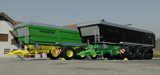 Photo of FS19 – Joskin Transspace 8000 V1.1