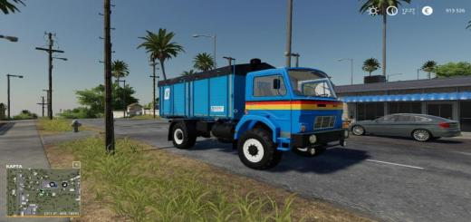 Photo of FS19 – Kroeger Hkd Module For D-754 Truck V1