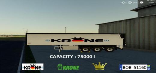 Photo of FS19 – Krone Trailer By Bob51160 V1.0.0.1