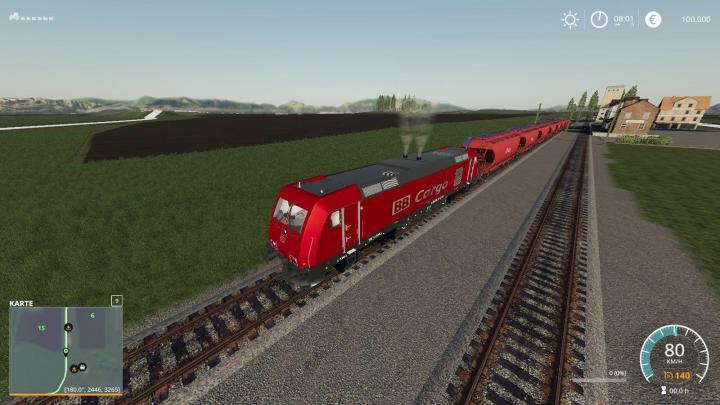 FS19 - Loco Series 285 Traxx V1